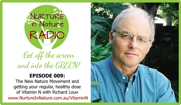 NIN Radio Episode Banner Ep 009 Richard Louv